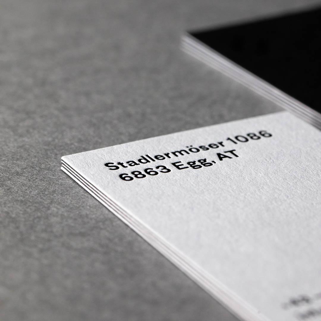 Blatt Und Herz Letterpress Design Druck Werkstatt